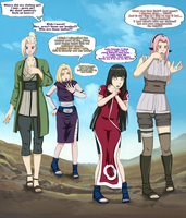 Jutsu goes wrong - Head Swap Konoha Version (COM) by Gwyndolin115