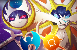 Pokemon Sun and Moon by xNIR0x
