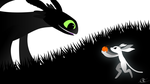 Toothless and Ori by Fanaen