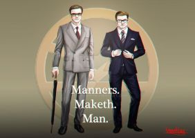 Manners. Maketh. Man. by Zellmard