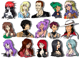 My fav OP OCs Collection 3 by S0KK0