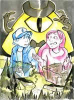 Welcome to Gravity Falls by paigehwarren
