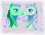 Ice Crystal x Winter Snow by Ini-Inayah