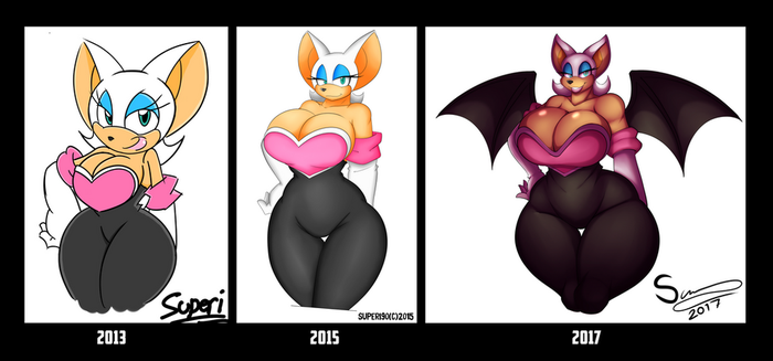Before and After 2017 by XSuperiX
