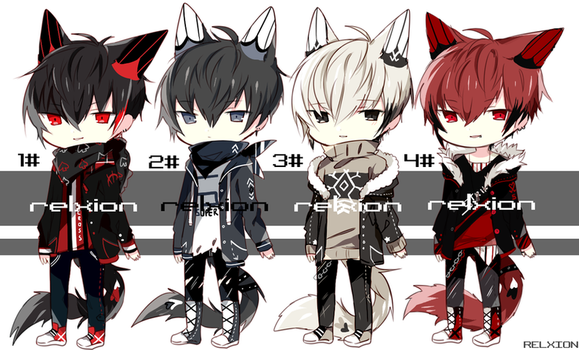 [SETPRICE*CLOSED]Lineheart*27 by Relxion-kun