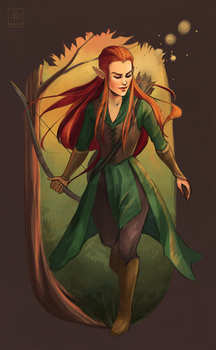 Tauriel by Pikeperch9