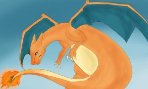 ~Charizard~ by LilLeahLion