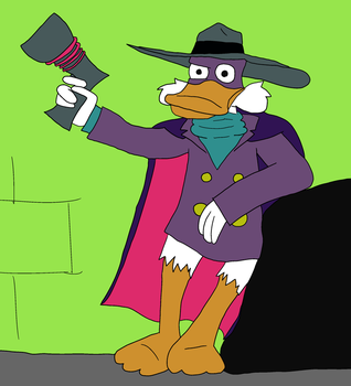 Darkwing Duck by MikePodgor