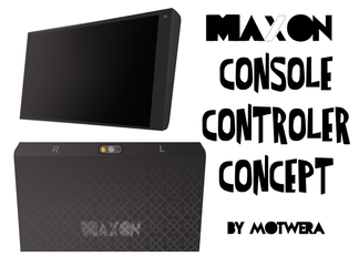 Maxon Console controller concept by three3world