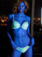 Karlie Kloss Blueberry Transformation by berrytoberry
