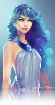 Princess Luna by corrico