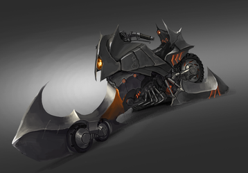 Extremely Inefficient Evil Motorbike by HeadcrabeD