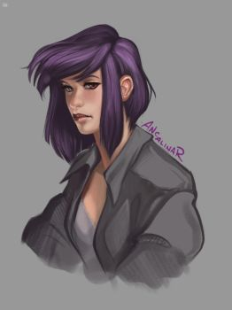 GitS by ancalinar