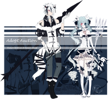 [CLOSED] Demon wolf and sheep Auction Adopt by silverblossoms