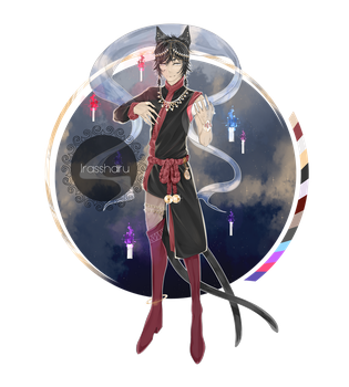 Halloween Magician adopt auction [CLOSED] by irassharu