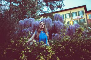 Serena at the Botanical Garden XX by Michela-Riva