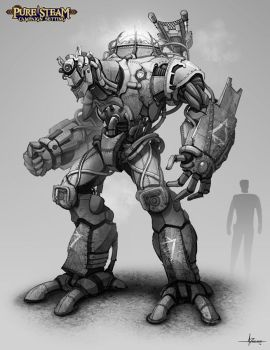PURE STEAM - Wondrous Armature by 47ness