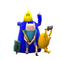 Adventure Time Low Poly by Littlenorwegians
