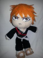 Floppy Ichigo Plushie~Complete by nightelfy