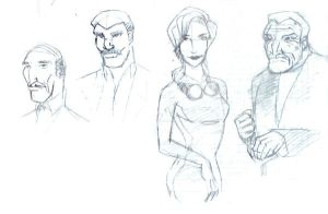 Some DC characters by tta269
