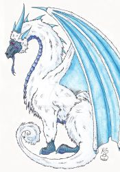 Yeti Dragon by Scellanis