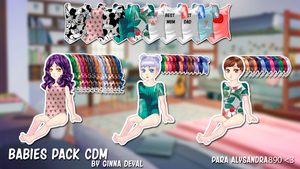 Babies pack - By Ginna Deyal by GinnaDeyal