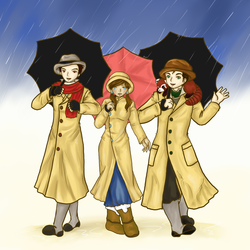 Singing in the Rain -Korra- by sirenlovesyou