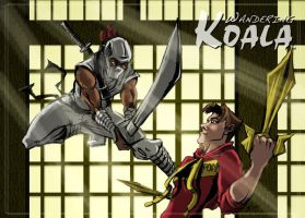 Storm Shadow hunts the Wandering Koala by SkyFitsJeff