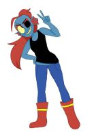 Undyne by DaTacoStudios1