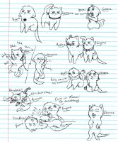 Hetalia Kitties 4 by nightwindwolf95