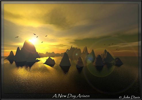 New day arisen by johndavis0