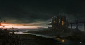 The Old Tower by rulez-dmitriy