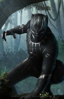 Black Panther by erlanarya