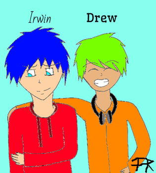 Irwin and Drew by Faith48Raven