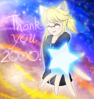 Thank You 2000!! by WhiterStar