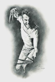 wolverine - pencil (upgraded) by DimRasha