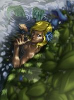 Sneaking up on a Mermaid by EzeKeiL