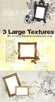 Pack 3 large textures by loveelydesigns