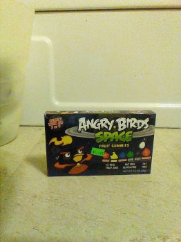 My Angry Birds Space Gummies (Bomb) by PurpleMetaKnight64