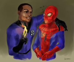Spideytorch_MBJ!johnny by krusca