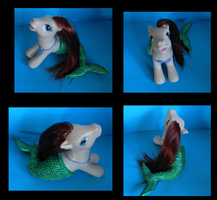 MLP Custom Little Mermaid Ariel by SlyBugle