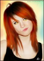 Hayley Williams - Paramore by nataliebeth