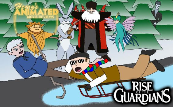 HAMR Rise Of The Guardians by The-WaxBadger