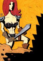 Red Sonja 24 and 25 by soliton