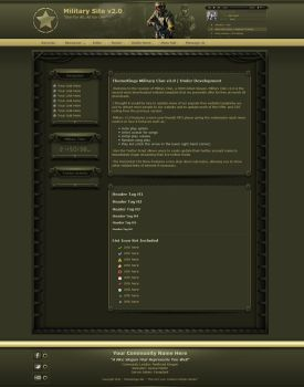 Military Clan Website Gaming Theme by ThemeKings by themekings