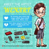 Meet the artist by Wenart