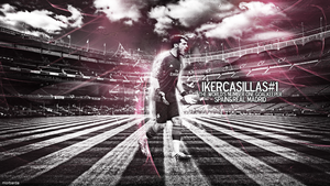 iker casillas wallpaper by MorBarda
