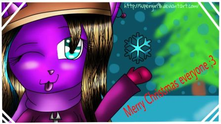 ...:Lucky wishes you a Merry Christmas:... by supergirl96
