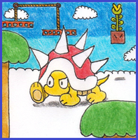 Super Mario CCG - Picudo/Spiny by Ignasozu7