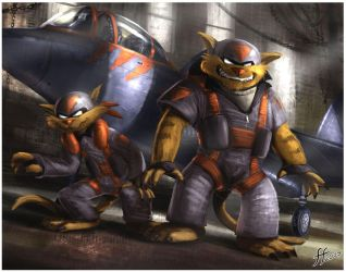 The Swat Kats by 14-bis